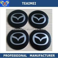Quality Adhesive Decorative 55mm ABS Wheel Center Cap Stickers For Jaguar for sale