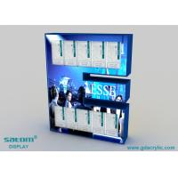 Quality Plexiglass / Acrylic Cigarette Display Cabinet With LED Light , Provide Free Design for sale