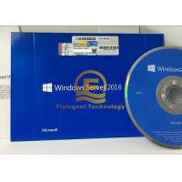 Buy cheap Original Windows Server 2016 R2 Standard OEM License 64 Bit DVD Media from wholesalers
