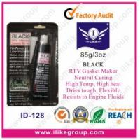 Quality High Temp Neutral Cure Silicone Sealant For Vehicle Body , Black Gasket Maker for sale