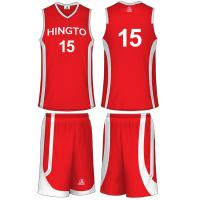 Wholesale Micro Mesh Sublimated Basketball Uniforms Sportswear With Custom Name / Number from china suppliers