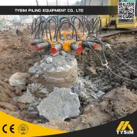 Wholesale Square Hydraulic Pile Cutter , Hydraulic Pile Breaker With Ce Conrete Round Pile Head Cutter from china suppliers