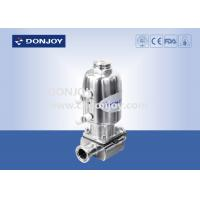 Wholesale 316L SS Direct way Clamp Sanitary Diaphragm Valve with Stainless steel actuator from china suppliers