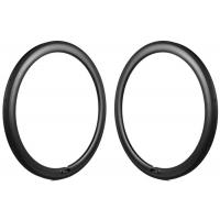 Wholesale Light bike carbon 50mm depth road bicycle rims 25mm width tubular U shape rim from china suppliers