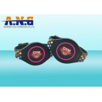Wholesale Colorful Silicone Rfid Wristbands / Rubber rfid bracelet for events access control from china suppliers
