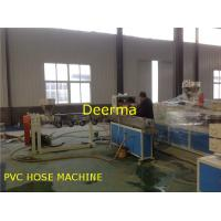 Wholesale Plastic Extrusion Machine Garden Fiber Reinforced Hose PVC Pipe Production Line from china suppliers