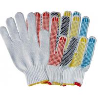 Wholesale  7 gauge cotton working industrial rubber ansell  String Knit Gloves for OEM  TCDP from china suppliers