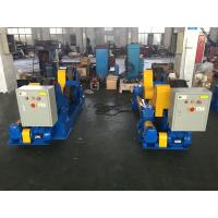 Wholesale 50Ton Tank Turning Rollers With 3KW Motor Drive Coating By Rubber from china suppliers