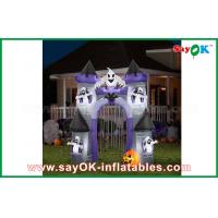 Wholesale Double Stitch Inflatable Halloween Decorations / Castle Holiday Decoration from china suppliers