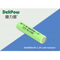 Wholesale Cold Resistant Aaa Nimh 600mah Rechargeable Batteries With MSDS from china suppliers