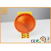 Wholesale High Brightness Battery LED Orange Traffic Warning Lights For Construction Sites from china suppliers