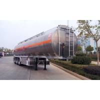 Wholesale Custom Bogie Suspension Semi Tanker Trailer 28T Loading Capacity For Oil from china suppliers