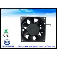 Wholesale 2 . 3W Industrial Axial Fans / Metal Frame Vane Axial Fan 80mm X 80mm X 38mm from china suppliers