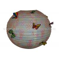 Wholesale Parties , Baby Showers Round Paper Lanterns with Lovely Patterned Printed from china suppliers