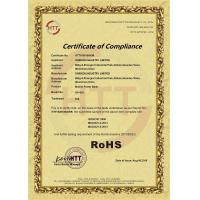 ONEKEN INDUSTRY LIMITED Certifications