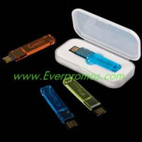 Wholesale 2.0 Lighted Logo Aqua Tail 2GB USB Drive from china suppliers