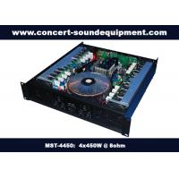 Wholesale Pub , Church , School Conference Sound Equipment Class AB 4 X 450W Analogue Amplifier from china suppliers