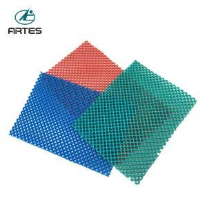 China Anti - Fatigue Comfort Large Bathroom Mats , Wear Resistant Blue Bath Mat on sale