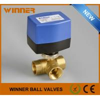 Wholesale 2 Way DN15 Electric Operated Valve ON/OFF Control AC230V 50Hz from china suppliers