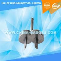 Wholesale AS/NZS 3112 Figure 3.7 Device for Checking The Resistance to Lateral Strain (Two-Pin Gauge) from china suppliers