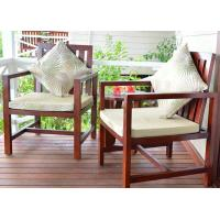 Wholesale Customized Garden / Balcony Wooden Lounge Chair Solid Wood Outdoor Furniture from china suppliers