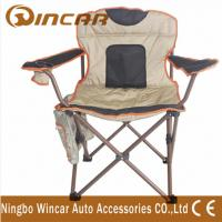 Wholesale 600D Polyester cloth folding Outdoor Camping Chairs for big beach from china suppliers