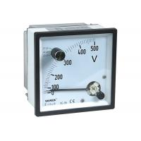 Wholesale CE Approved Analogue Panel Meters With Change-Over Switch Voltmeter / Voltage Meter from china suppliers