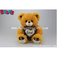 "Wholesale 2014 Hot Sale 12"" Corporate gift Brown Stuffed Teddy Bear With Heart Pillow from china suppliers"