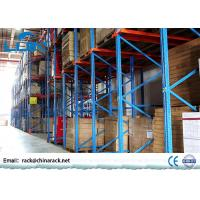 Wholesale High Density Steel Drive In Pallet Rack Shelving For Storage Corrosion Protection from china suppliers