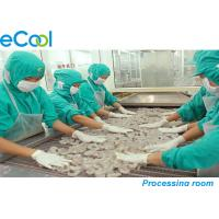 Wholesale Custom Meat Processing Cold Room 3000 Tons , Cold Room For Frozen Seafood from china suppliers