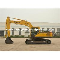 Wholesale 1.2m3 Bucket Crawler Mounted Excavator , Hydraulic Drive Type Hydraulic Shovel Excavator from china suppliers