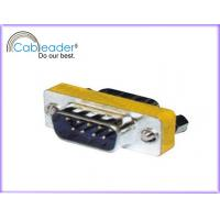 Wholesale Cableader 9 Pin Mini VGA Gender Changer DB9M - DB9M with steel shell from china suppliers
