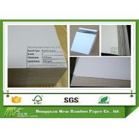Wholesale Folding Resistance Recycled Duplex Board 300gsm 0.37mm Grey Back Strong Stiffness from china suppliers
