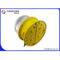 Quality Waterproof LED Aviation Obstruction Light Lower Power Consumption And Long Life for sale