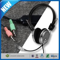 Wholesale Computer PC Stereo Headphone or Earphone Bravo 3.5mm Mic Microphone from china suppliers