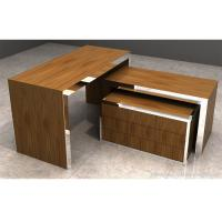 Wholesale Brown Wood Display Table Easy Assembly , Durable Retail Display Nesting Table from china suppliers