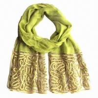 Wholesale 100% Silk Scarf with Accessories from china suppliers
