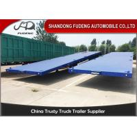 Wholesale Three Axle Flatbed Container Trailer 40 Ft Flatbed Trailer For Tractor from china suppliers