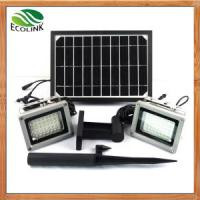 Wholesale China Solar Energy /Solar Power Dual Outdoor LED Floodlight for Garden from china suppliers
