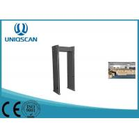 Wholesale 5 Digital LED Count 6 Zones Walk Through Metal Detector For Exhibition Center from china suppliers