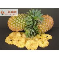 Wholesale Tropical Pineapple Freeze Dried Fruit Slice Healthy Snacks Taste Good from china suppliers