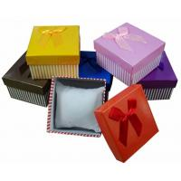 Wholesale Paper Mens Watch Gift Box , Cardboard Jewellery Packaging Boxes from china suppliers