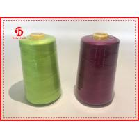 Quality 40/2 5000Y Spun Polyester Thread Bright Color High Tenacity / Coats Polyester Thread for sale