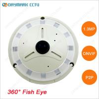 Wholesale 1.3MP HD Fisheye IP Camera 360 degree Panoramic View 128G SD Card from china suppliers