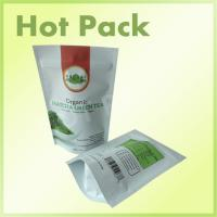 Wholesale Organic Matcha Tea Stand Up Plastic Bags , Eco Friendly Stand Up Pouches from china suppliers