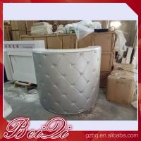 Wholesale reception desk beauty salon counter reception vintage front desk reception counter from china suppliers
