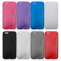 Wholesale Mobile Phone Covers S-line Soft TPU& Plastic Back Shell Case For Apple Iphone 6 from china suppliers