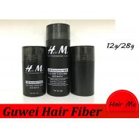 Wholesale 15 Colors 12g/28g Instant Hair Building Fiber Thickening The Hair Black from china suppliers