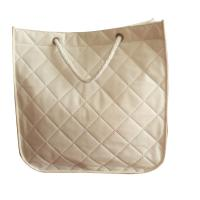 Wholesale Colorful classic quilted non woven carry bag with veins and twist handle from china suppliers