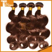 Wholesale 5A Dark Brown Hair Dye Brazilian Body Wave Chocolate Brown Hair Color Walnut Brown Hair Co from china suppliers